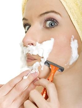 Cạo lông mặt chỉ là giải pháp tạm thời