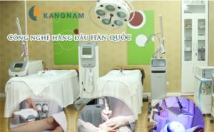 Thẩm mỹ viện Kangnam với hệ thống công nghệ hiện đại và công nghệ triệt lông tiên tiến bậc nhất